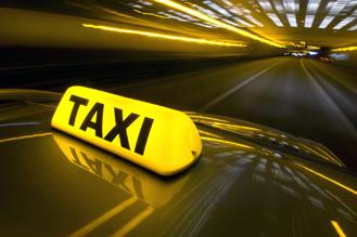 Taxibusje Mercedes